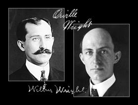 Orville And Wilbur Wright In Color